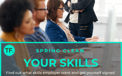 Spring clean your skills