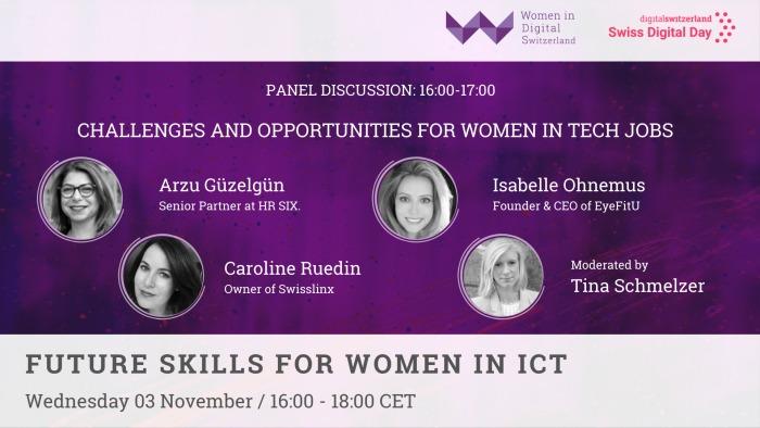 Women in Digital Switzerland Event Nov 2021