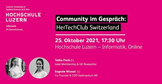 Her Tech Club Community Gespräch HSLU Okt 2021