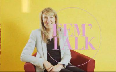 FEM'TALK with our co-founder Priska
