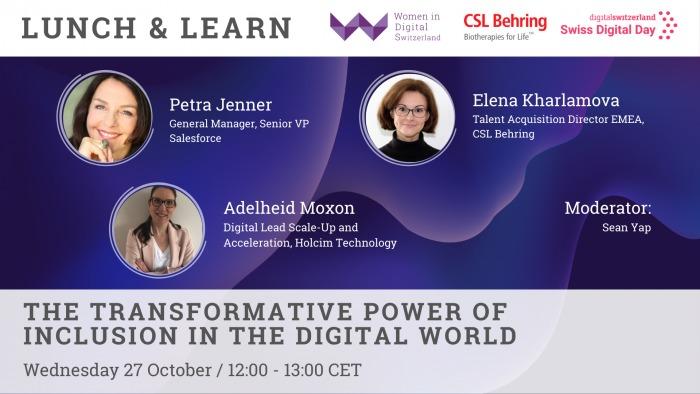 Women in Digital Switzerland October 21